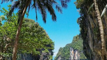 landscapes of Ko Lao Lading in Krabi