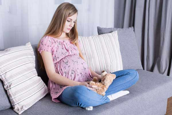 Teen-Pregnancy with doll