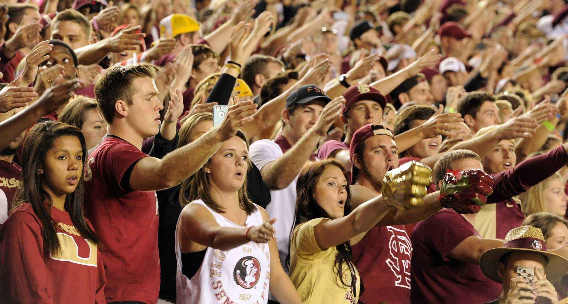 College Traditions The War Chant At Fsu College Tips
