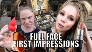 Full Face First Impressions! Testing New Makeup
