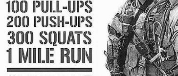 Memorial Day Workout 2017: Murph