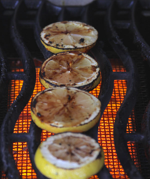 grilled lemonade on the grill