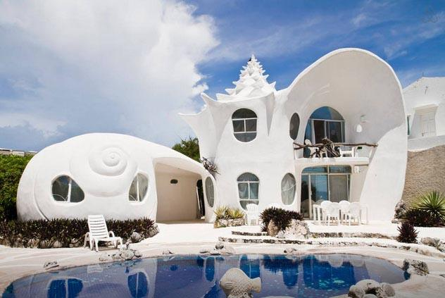 Craziest Airbnb Listings For 2018 shell house