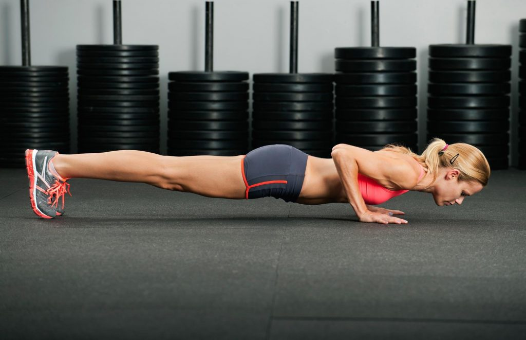 Fitness Motivation: How to Get Hyped About Working Out plank exercise