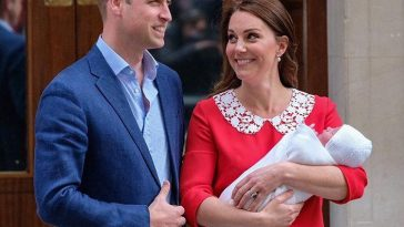 Duke and Duchess of Cambridge Welcome Baby No. 3 baby boy
