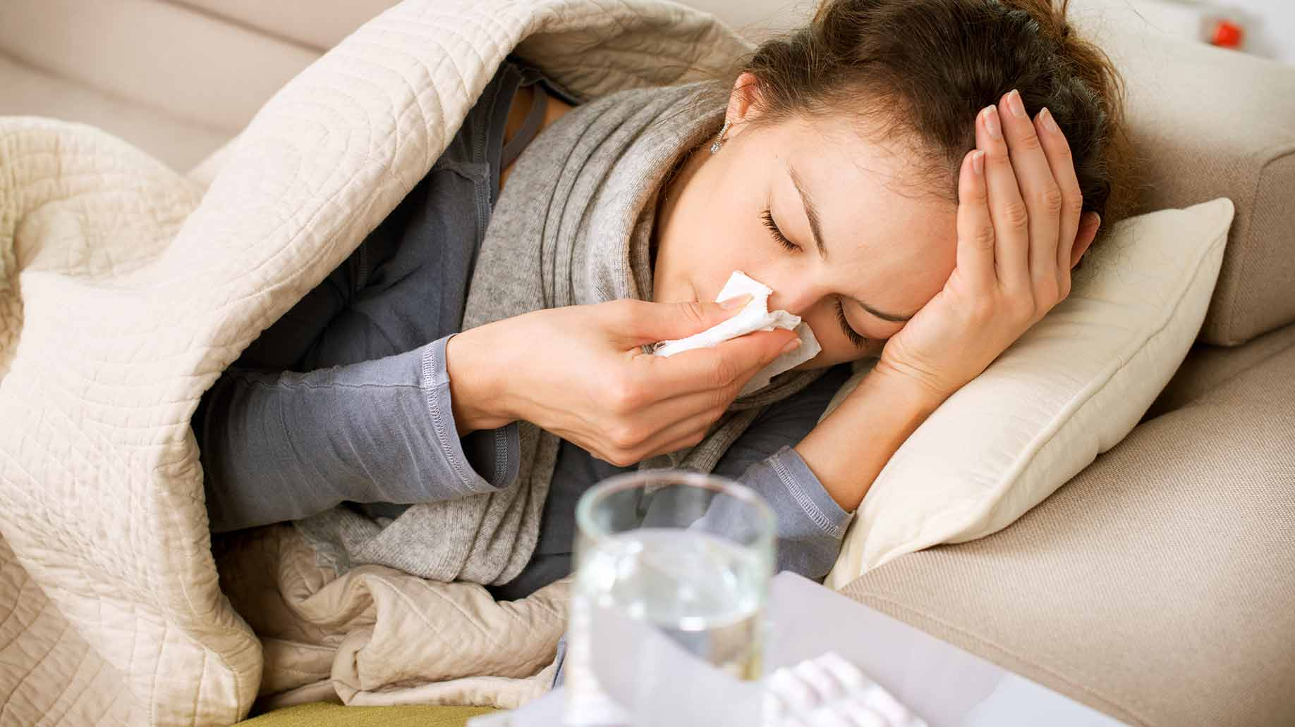 Fast Healthy Ways to Get Over A Cold