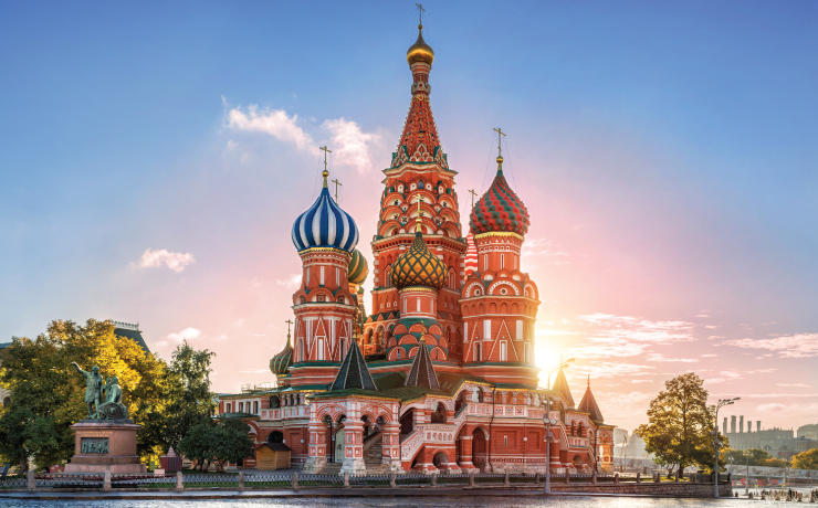 Amazing European Destinations to Travel by Train Moscow