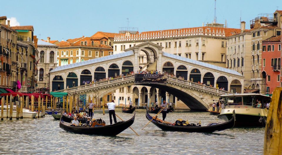 Amazing European Destinations to Travel by Train Venice