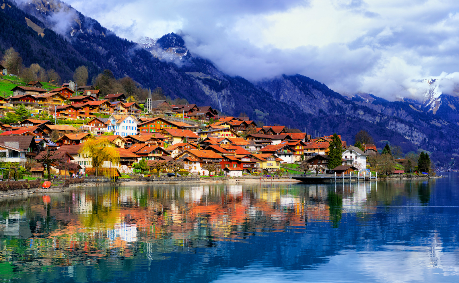 Amazing European Destinations to Travel by Train Switzerland