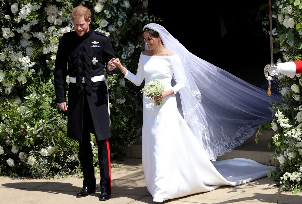 Here Comes the Bride: Meghan Markle and Prince Harry Tie the Knot wedding