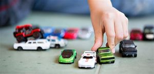 Playing with cars!