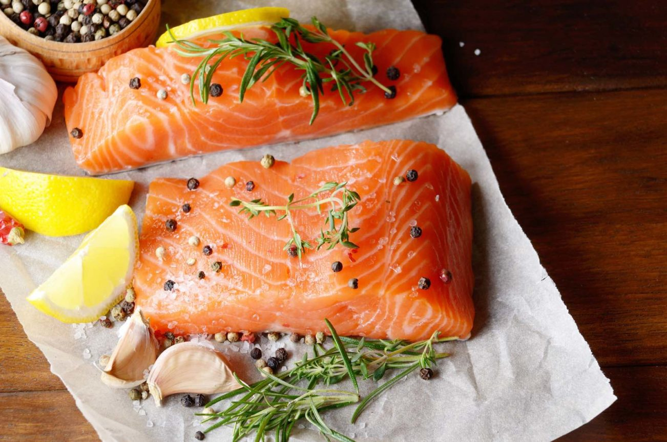 5 Best Superfoods For A Healthier Life salmon