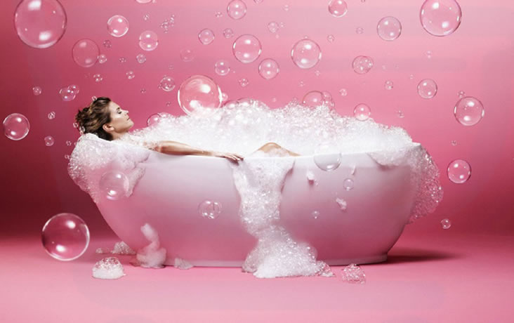 How To De-Stress During Exam Term bubble bath