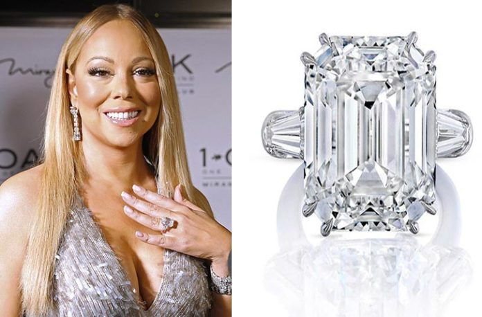 The Most Beautiful, Expensive Celebrity Engagement Rings Of All Times mariah carey james packer