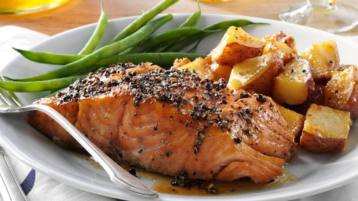 Top 7 Foods To Improve Your Heart Health salmon