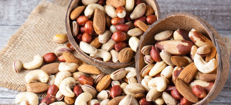 Best Foods To Increase Dopamine Levels And Productivity nuts seeds