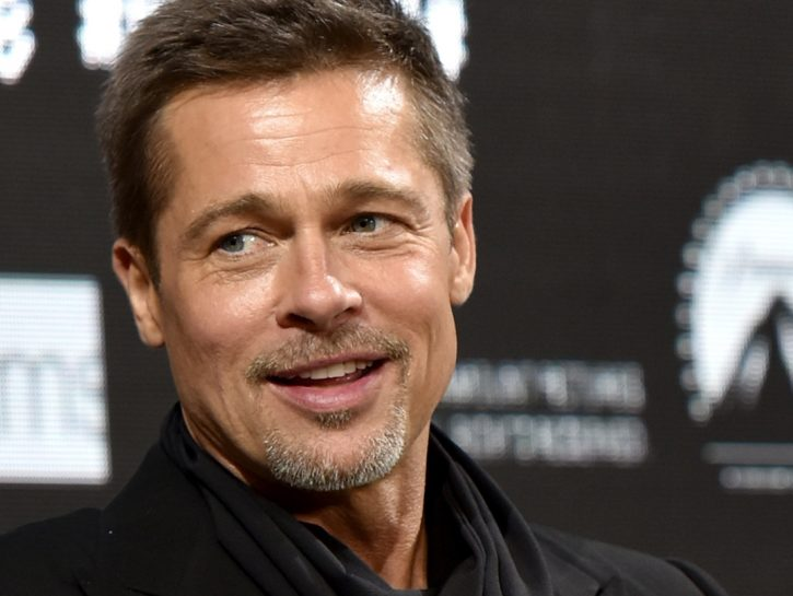 Celebrities Who Used To Be Strippers brad pitt