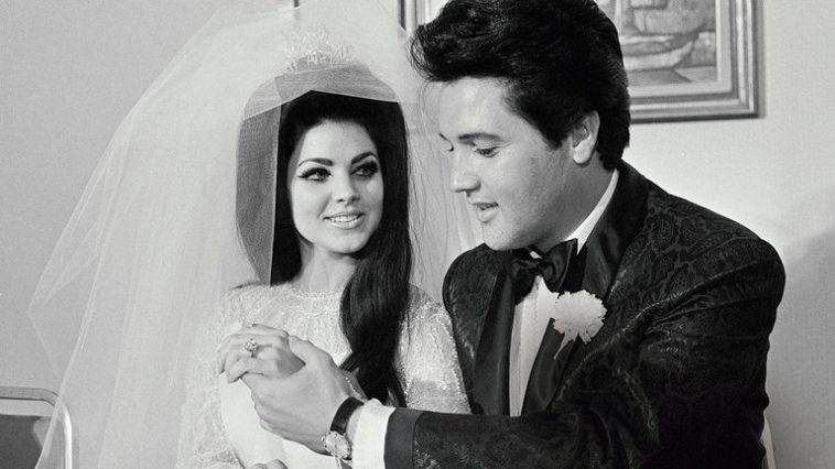 Male Celebrities Who Dated Significantly Younger Women elvis priscilla presley