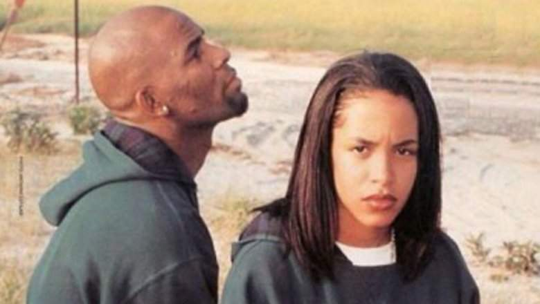 Male Celebrities Who Dated Significantly Younger Women r kelly aaliyah