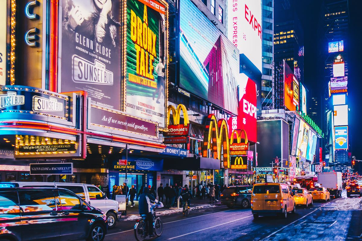 The Most Popular Tourist Attractions In The World times square