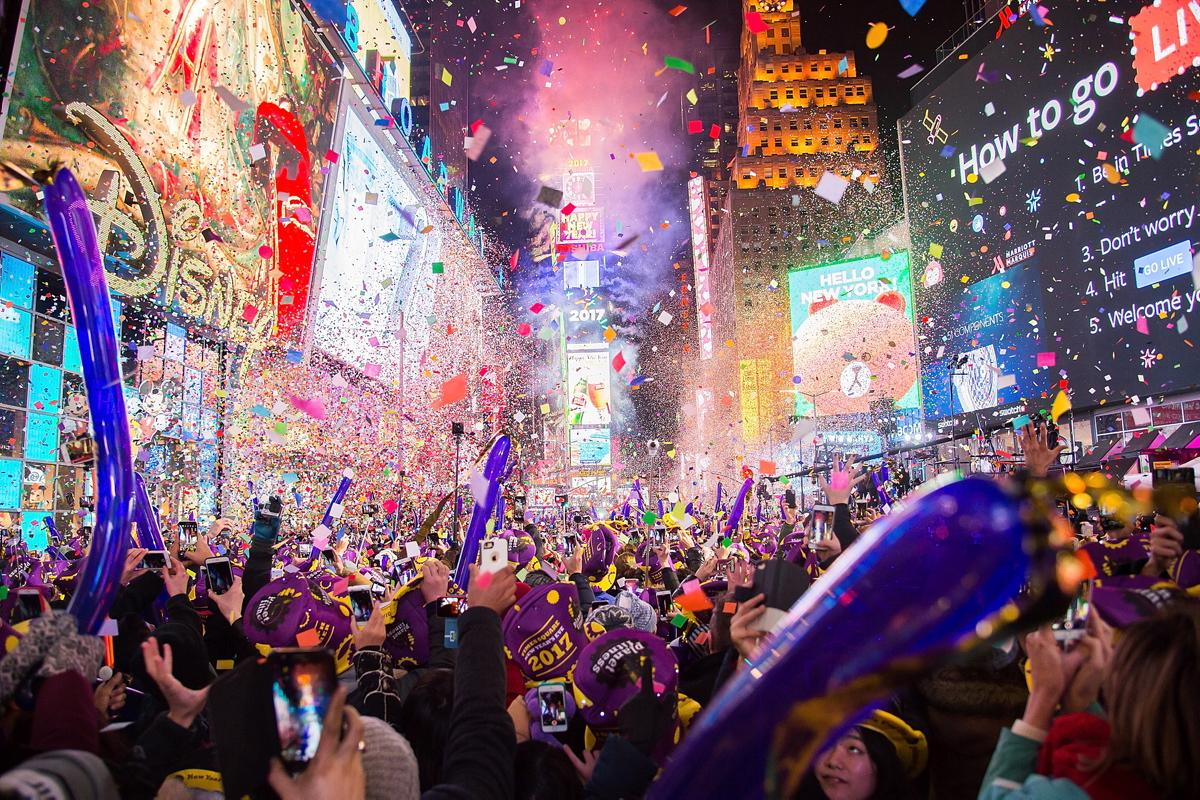 Top Trending New Year's Eve Destinations For 2019 new york