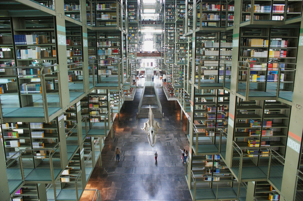 5 Most Beautiful Libraries In The World mexico library