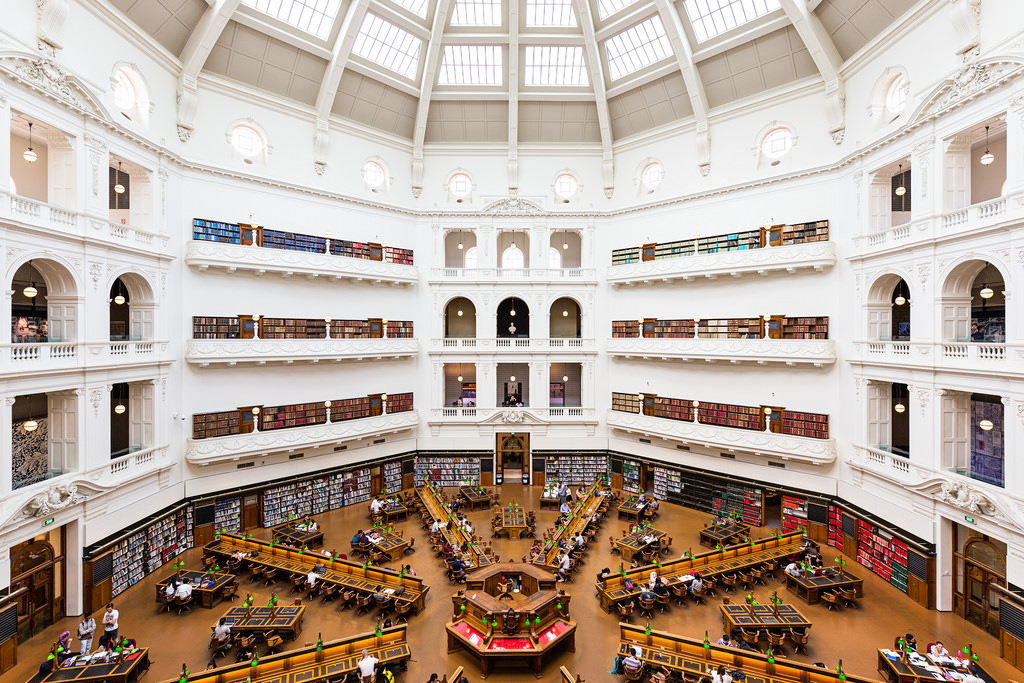 5 Most Beautiful Libraries In The World melboure victtoris library