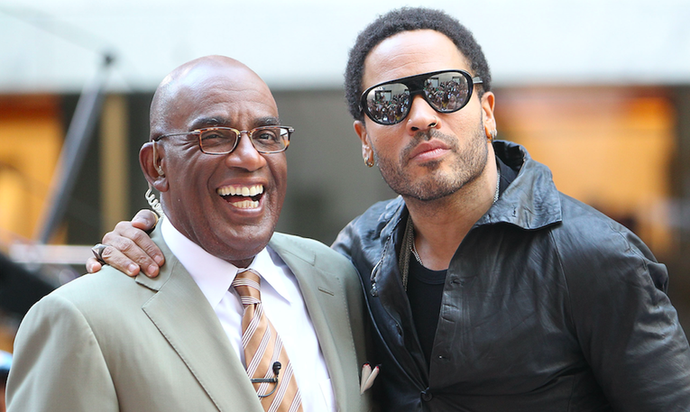 Celebrities You Didn't Know Were Related lenny kravitz al roker