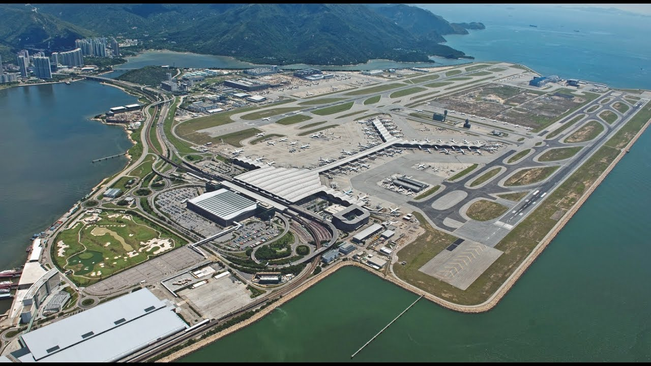 The Craziest Airports In The World hong kong
