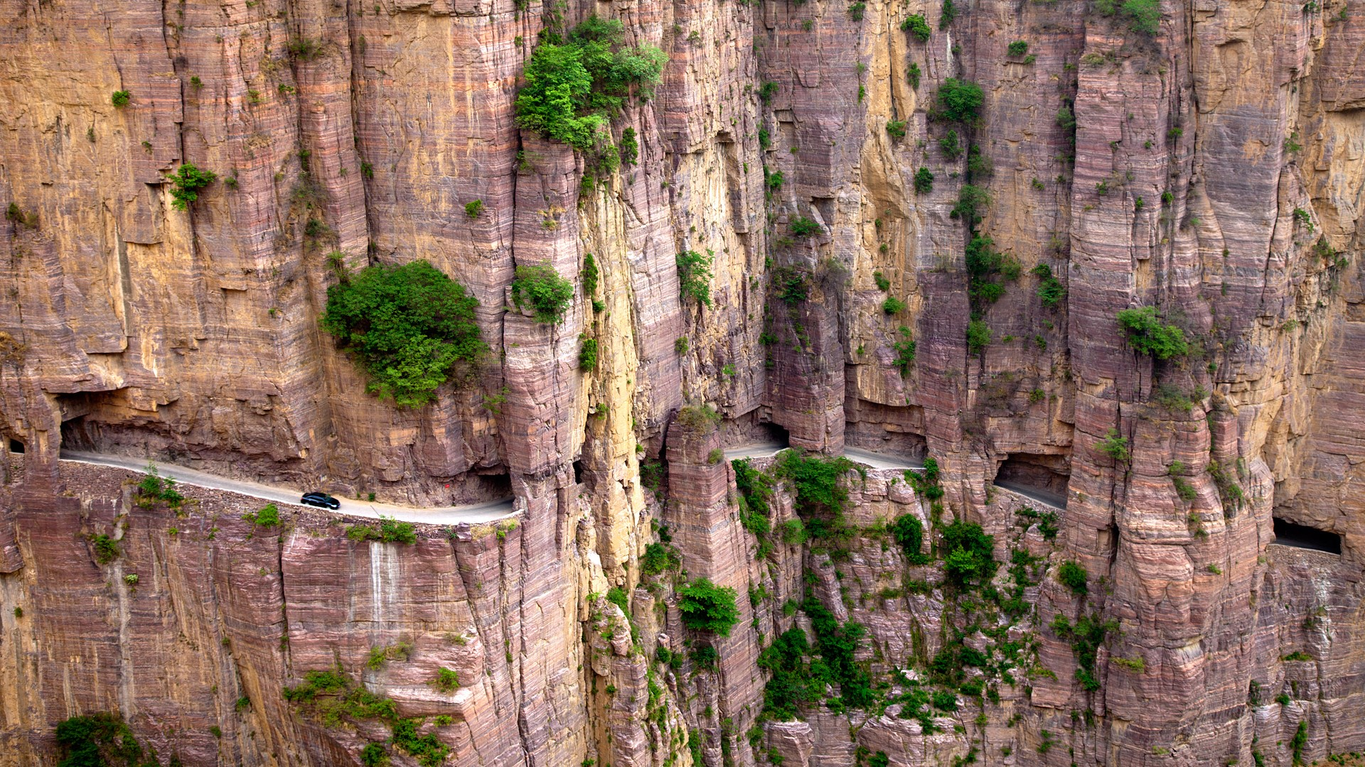 The Most Dangerous Roads In The World Guoliang Tunnel Road