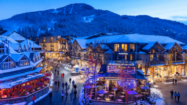 Most Popular Ski Resorts In The World 4 whistler