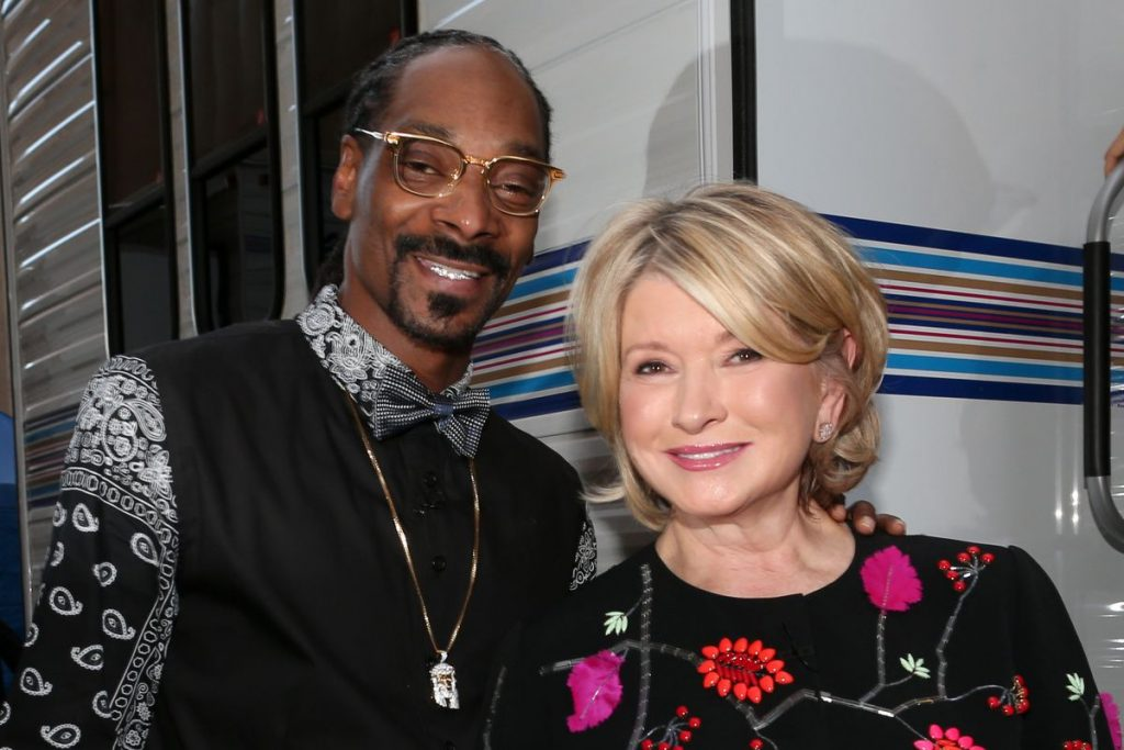 The Most Surprising Celebrity Best Friends Duos snoop dogg martha stewart