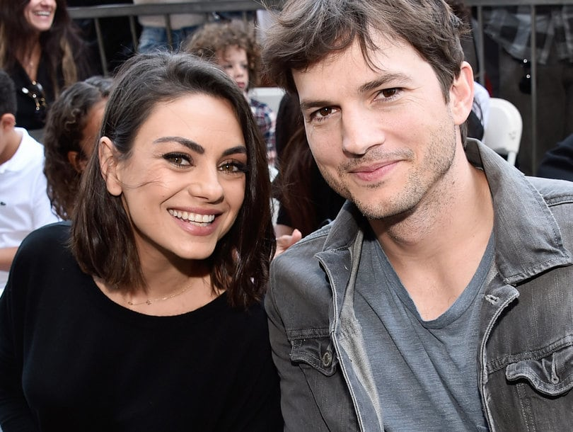Top Best Secret Celebrity Weddings mila kunis ashton kutcher