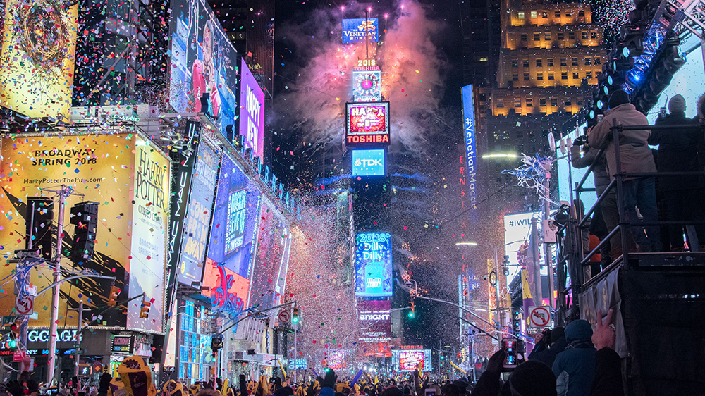 The Best New Year's Eve Celebrations For 2019 In The World new york