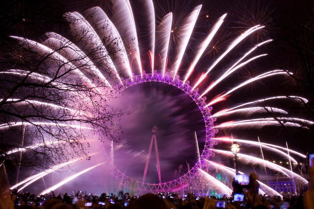 The Best New Year's Eve Celebrations For 2019 In The World london