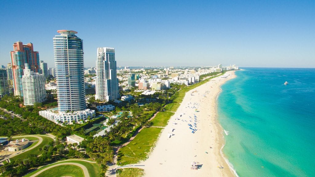 The Most Romantic Cities To Visit For Valentine's Day 2019 miami