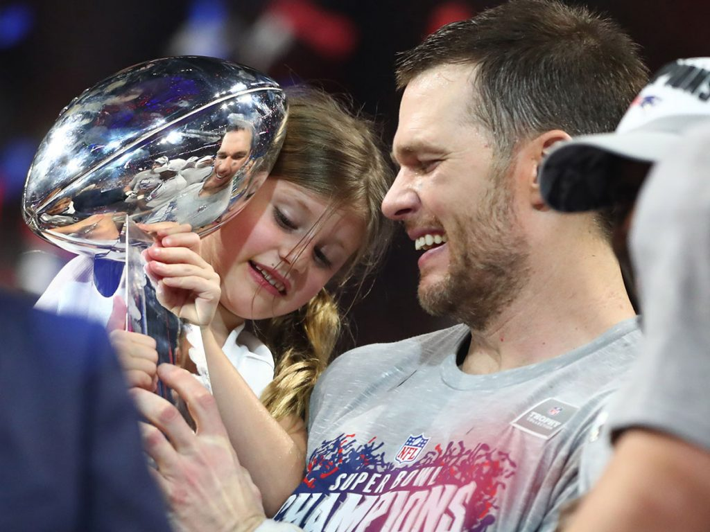 Tom and a Little Brady